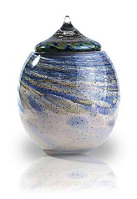 Glazen Urn Osiris Windekind (3.5 liter)