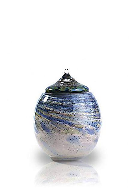 Glazen Urn Osiris Windekind (2 liter)
