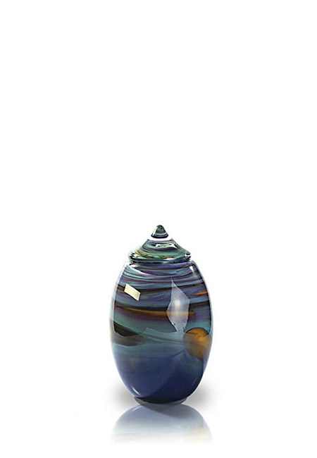 Glazen Mini Urn Ymir Elfenvuur (0.2 liter)