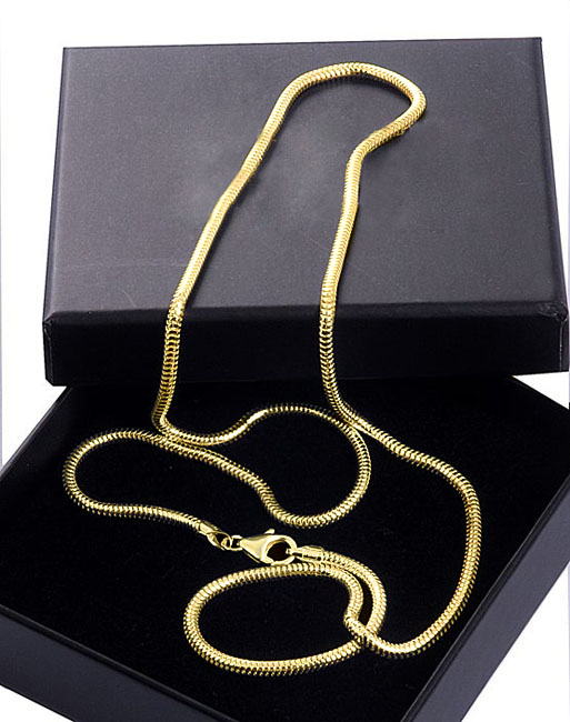 Gouden Slangen Collier Medium