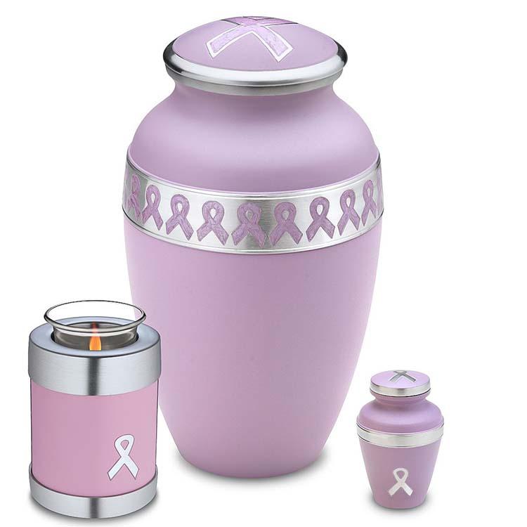 Grote LoveUrns Urn Pink Ribbon (3.1 liter)