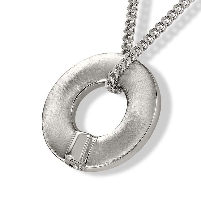 Ronde Ring Ashanger inclusief Collier