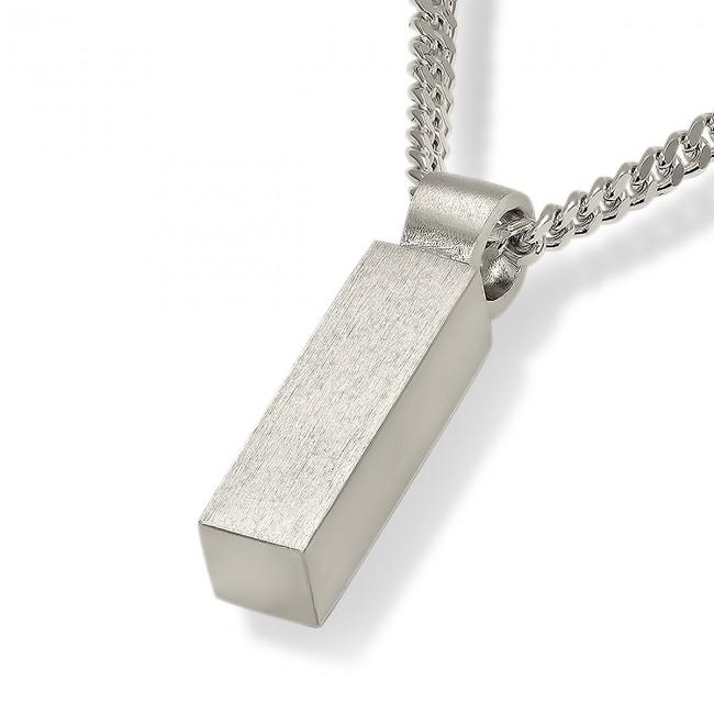 Vierkant Buisvormig Assieraad inclusief Collier