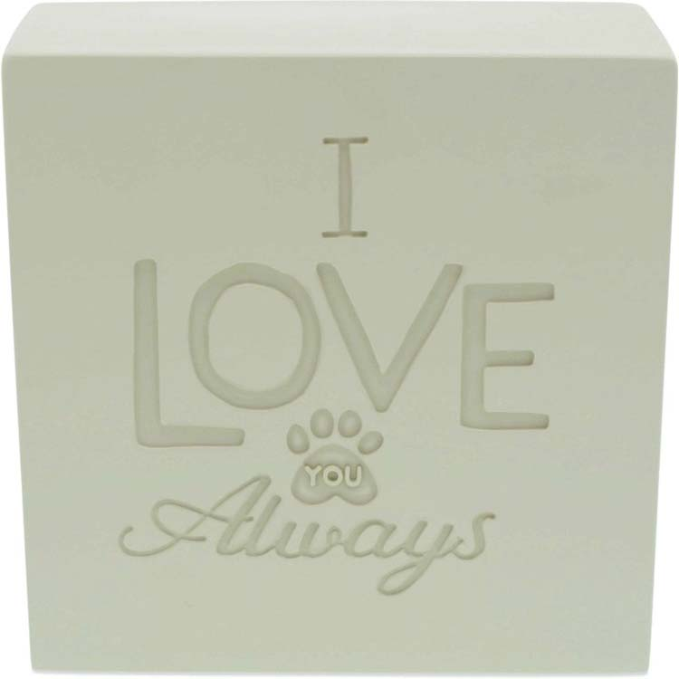 Bol Hart Dierenurn I Love You Always (0.7 liter)