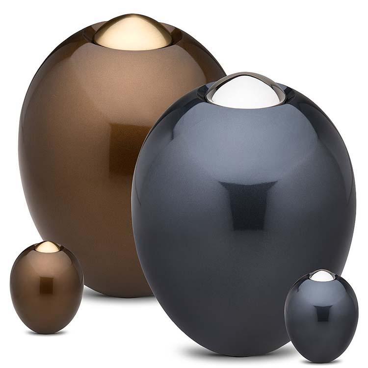 Grote Messing Adore Golden Brown Urn (5.4 liter, geschikt als duo urn)