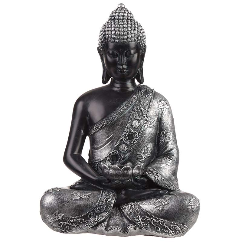 Middelgrote Kaarshouder Boeddha Urn Lotus (ca. 1.5 liter)