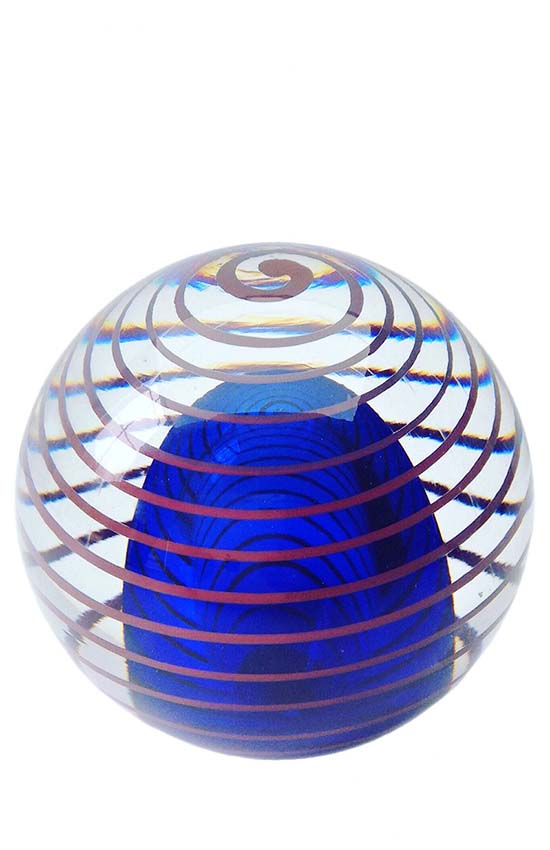 Kristalglazen 3D Circle of Life Bol Mini Urn (0.15 liter)