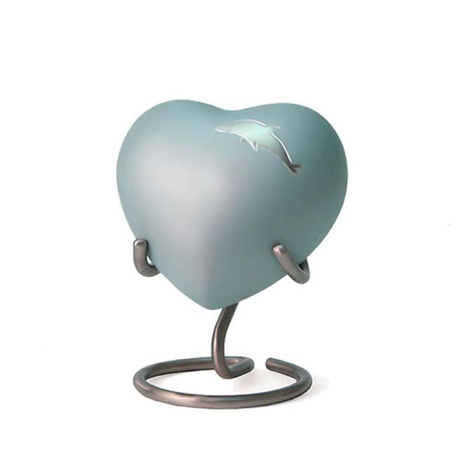 Aria Dolphin Hart Urn (0.11 liter)