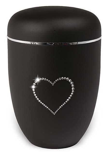 https://grafdecoratie.nl/photos/Designer-urn-matzwart-Swarovski-metalen-urnen-H3670SWH-SB.JPG