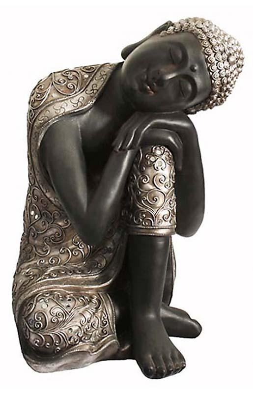 XXL Duo Urn Slapende Indische Buddha (24 liter)