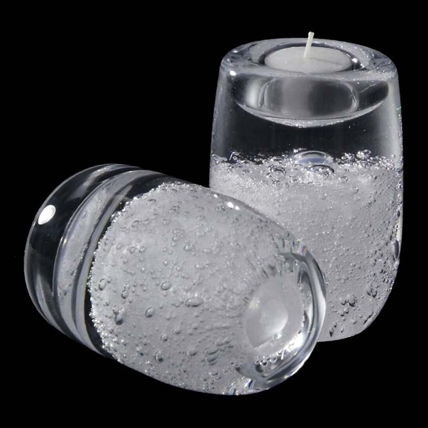 Grote Kristalglazen Stardust Waxinelicht Urn (0.05 liter)