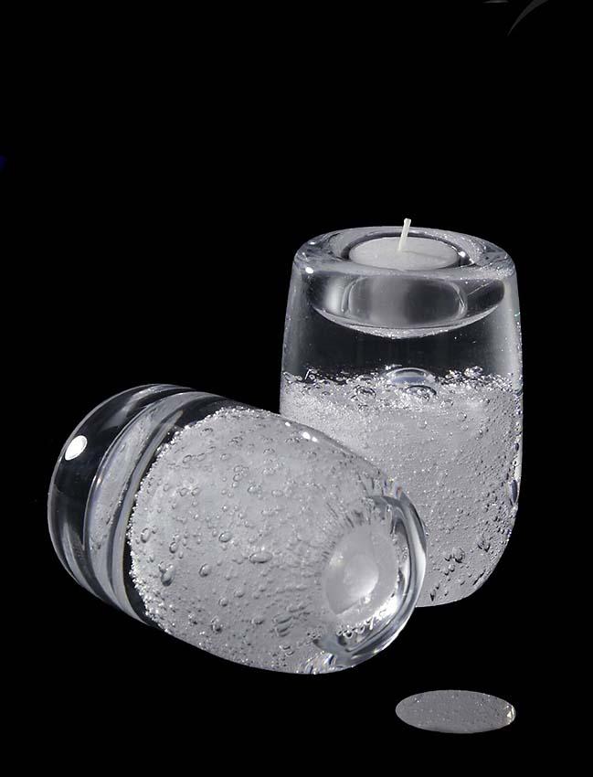 Kleine Kristalglazen Stardust Waxinelicht Urn (0.03 liter)