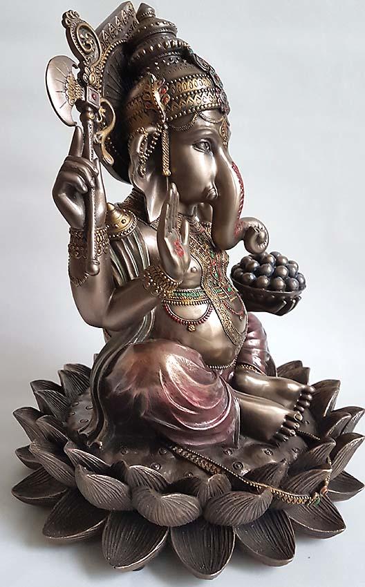 Ganesh Urn of Ganesha Asbeeld (1.5 liter)