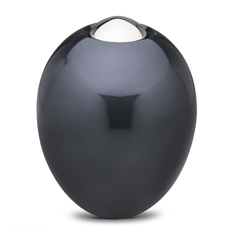 Grote Messing Adore Midnight Urn (5.4 liter, geschikt als duo urn)