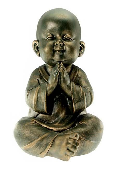 Grote Buddha Urn Zegenende Shaolin Monnik (3.2 liter)
