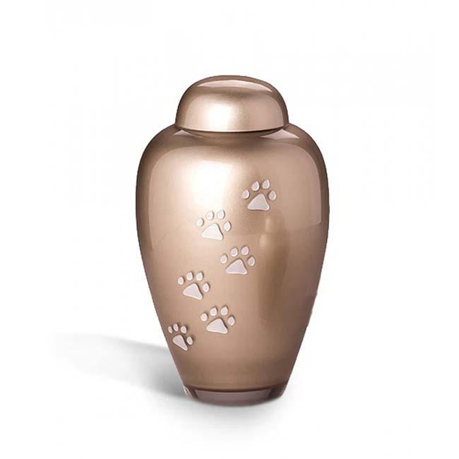 Grote Bohemian Crystal Glazen Dierenurn (1.9 liter)