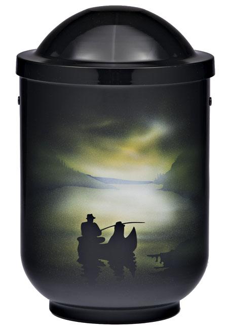Design Urn Visser bij Nacht (4 liter)