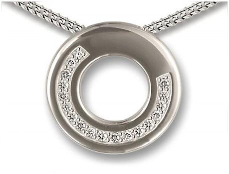 Ringvormige Ashanger Zirkonia Boog