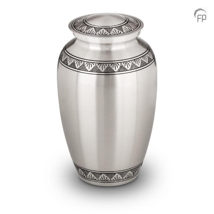 Grote Messing Urn Klassiek Tin Bladerrand (3.2 liter)