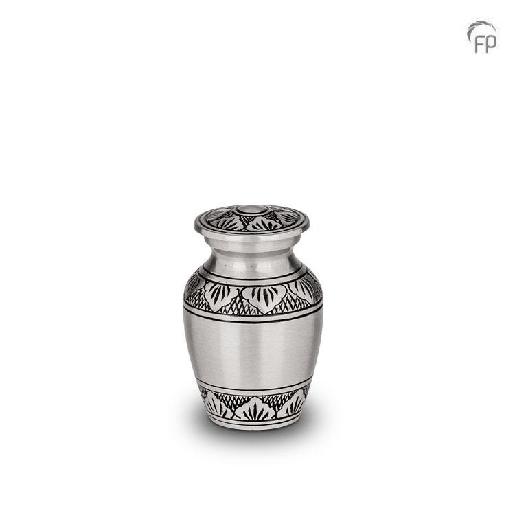 Messing Mini Urn Klassiek Tin (0.05 liter)