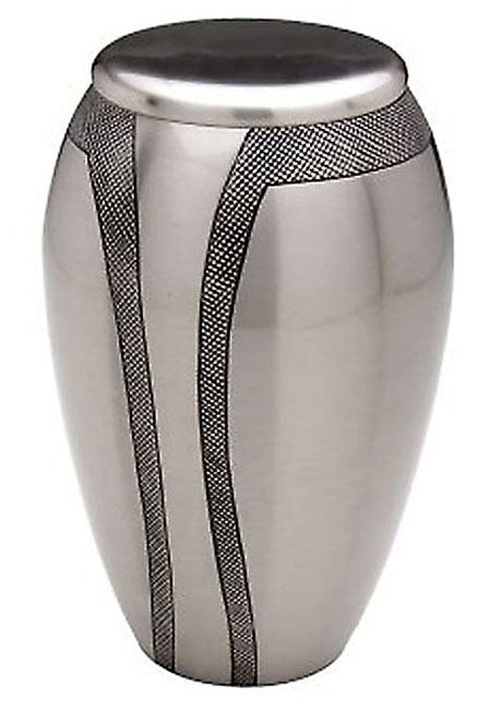 Grote Messing Urn Modern Art (4 liter)