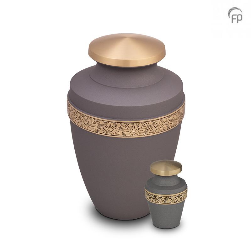 Grote Messing Vaas Urn Bloemenband (3.2 liter)