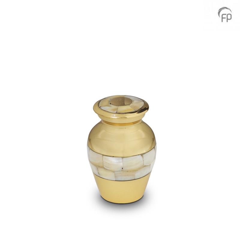 Mini Urn Parelmoer Shiny Gold - Parelmoer (0.05 liter)