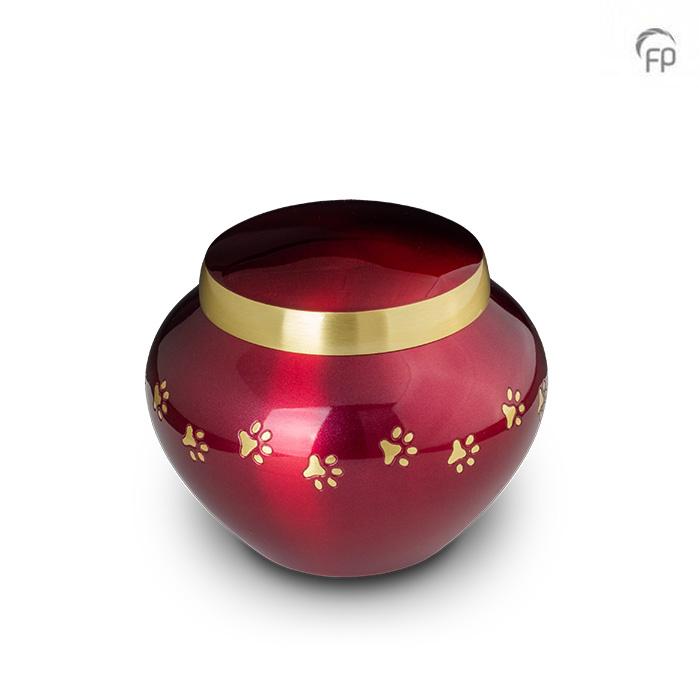Dierenurn Crimson Odyssey Small (0.45 liter)