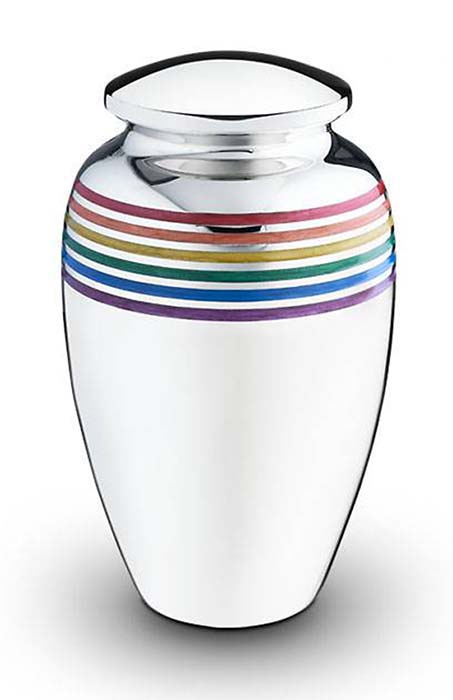 Messing Rainbow Urn Pride (3.5 liter)
