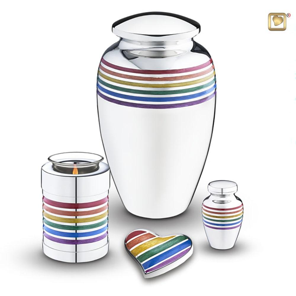 Messing LoveUrns Rainbow Urn Pride (3.5 liter)