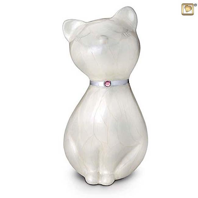 Messing kattenurn (0.7 liter)