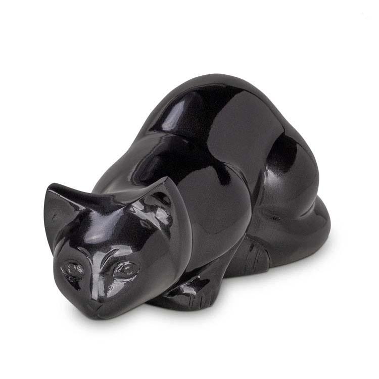 Messing kattenurn Onyx (0.6 liter)