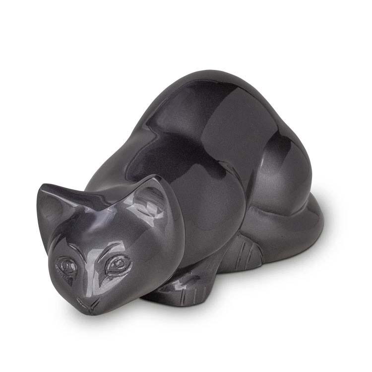 Messing kattenurn Slate (0.6 liter)