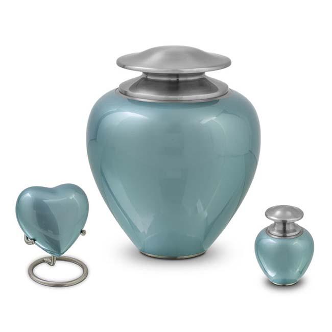 Grote Satori Ocean Blue Dierenurn (3.2 liter)