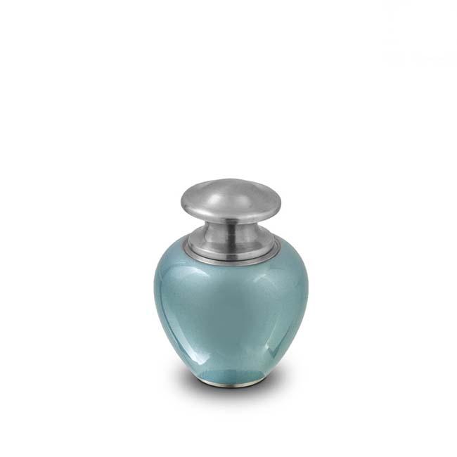 Satori Ocean Blue Mini Dierenurn (0.1 liter)