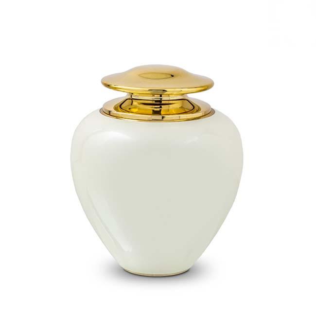 Grote Satori Pearl White Urn (3.2 liter)