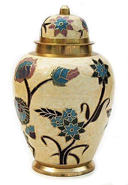 Grote Messing Urn Bloemen (3.2 liter)