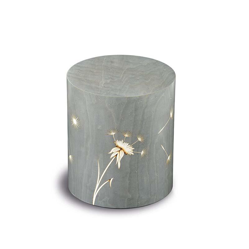 Cilinder Urn Compagnon Denti Leone Grigio (3.3 liter)