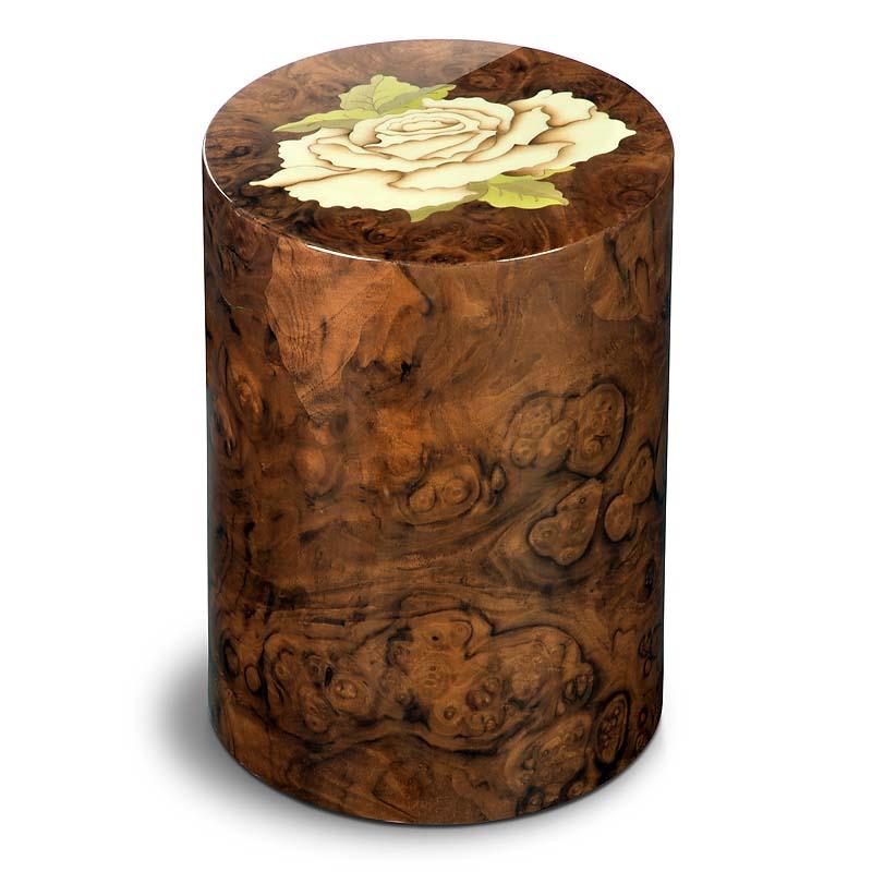 Cilinder Urn Pisa Rosa Noce (7 liter)