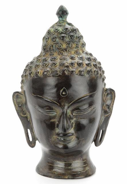 Infinity Art Urn Serenity Buddha Bronze (3.6 liter)