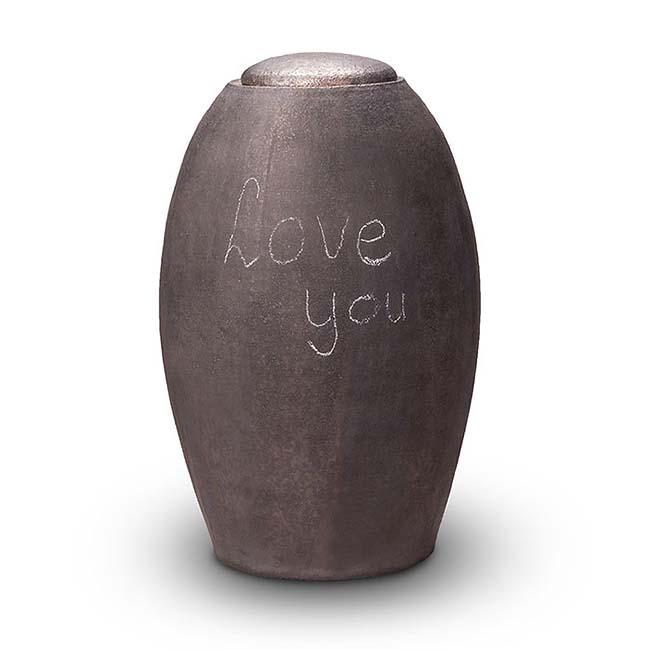 Beschrijfbare Keramische Urn My Feelings (4.7 liter)