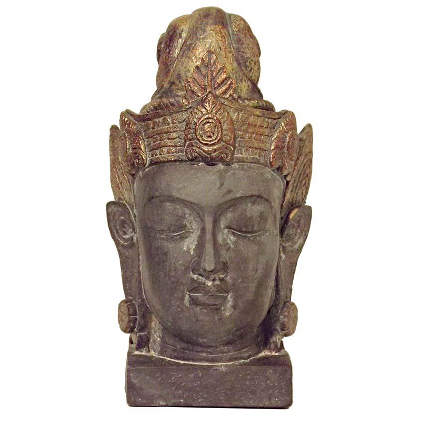 Grote Chinese vrouwelijke Buddha Urn Kwan Yin (3 liter)