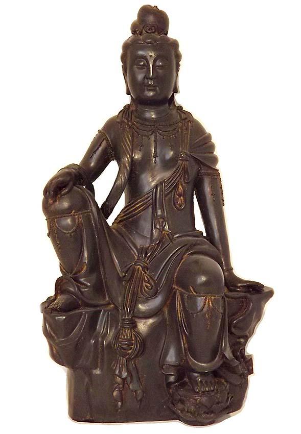 Grote Chinese Buddha Dieren Urn Kwan Yin (3 liter)