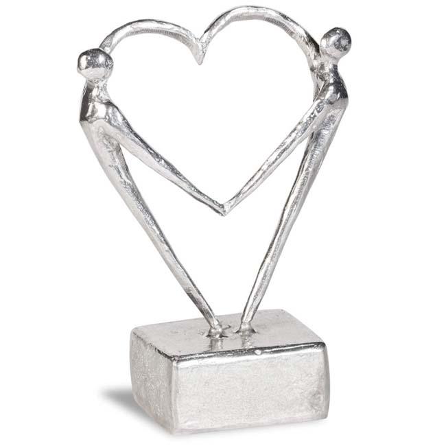 Mini Asbeeldje Samen een Hart voor Elkaar (0.05 liter)