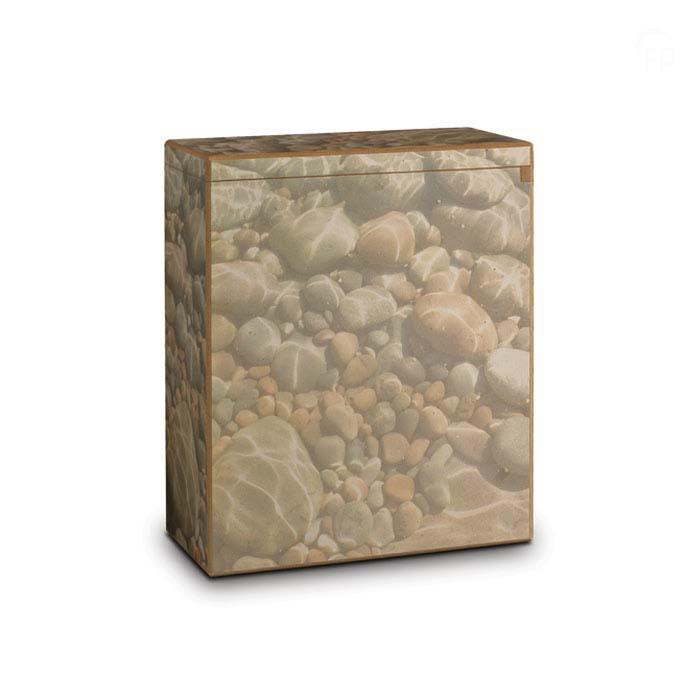 Grote MDF Verstrooi Urn Kiezelstenen (3.2 liter)