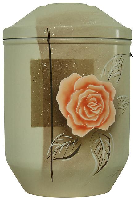 Design Urn Pompoenroos op Satijn (4 liter)