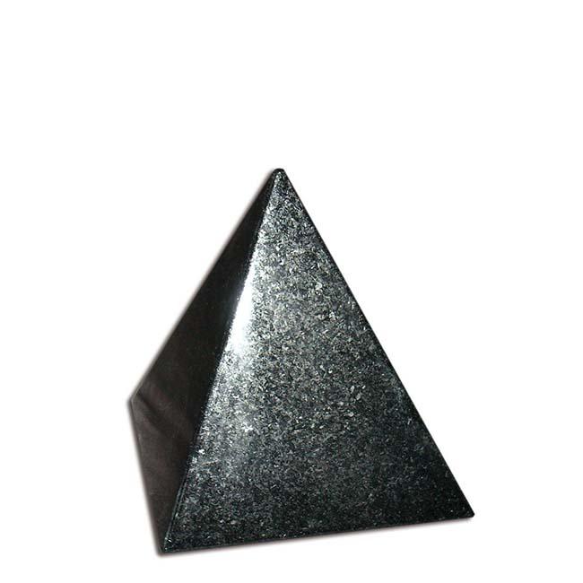 Granieten Miniurn Piramide - Jasberg (0.1 liter)