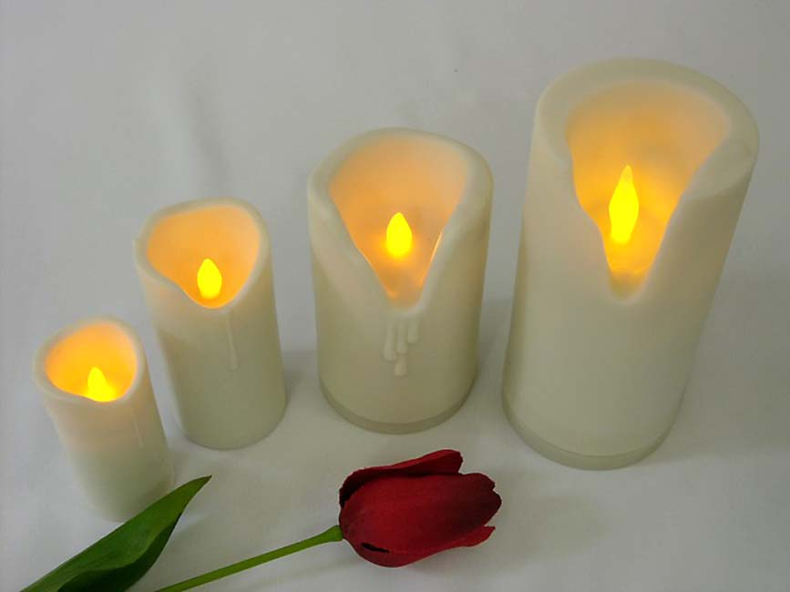 Large Soft Candle LED-kaars