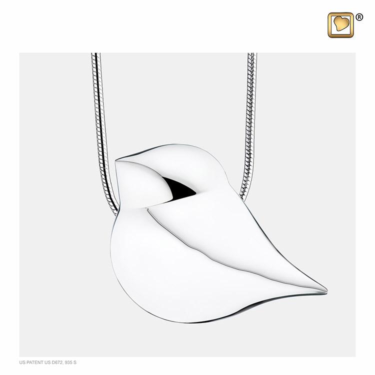 Ashanger Soul Bird Zilver inclusief Collier