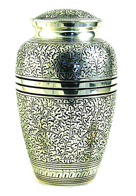 Grote Oak Antique Silver Urn (3.1 liter)